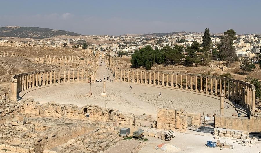 Titelbild Jerash