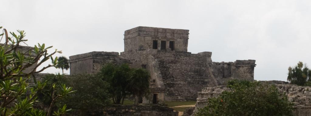 Tulum - Maya Ruinen El Castillo